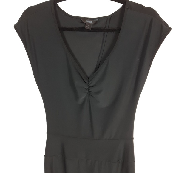 Express Dresses & Skirts - Express Black Dress Open Back Size Medium